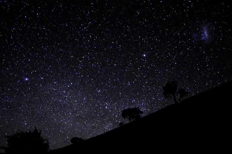 Starry sky in South Africa