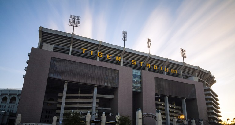 LSU, Louisiana State University, Tiger Stadium, Baton Rouge