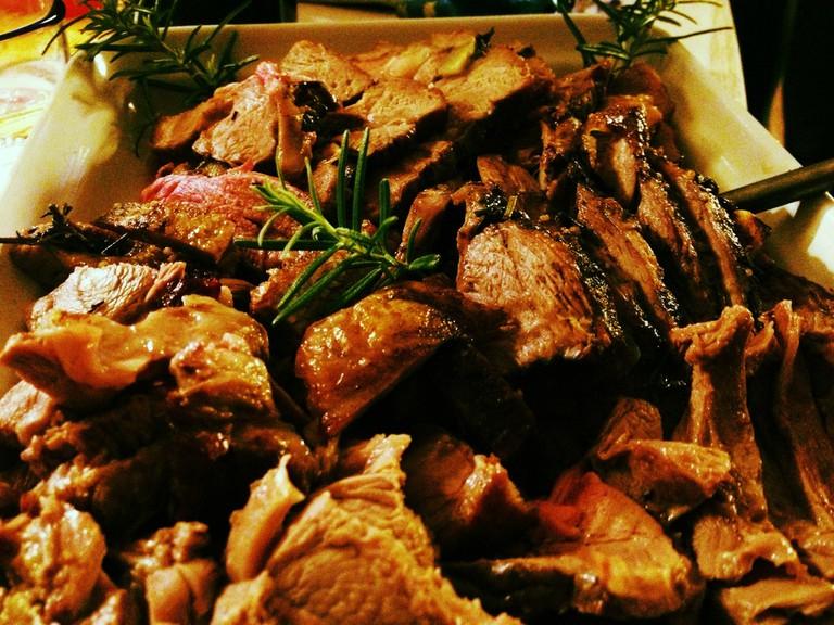 lamb Easter danish food