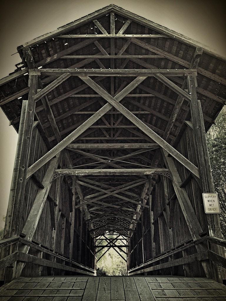 The Felton Covered Bridge