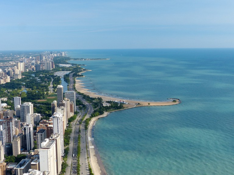 Lake Michigan provides Chicagoan with 24 unique beaches.