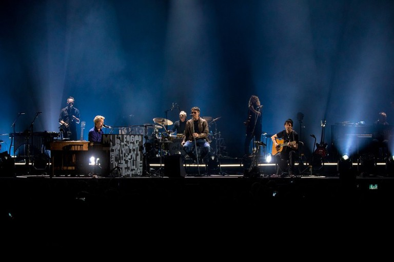 a-ha at the MTV Unplugged in Cologne, Germany