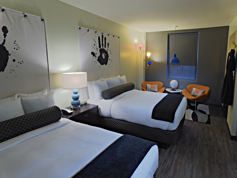ACME Hotel offers trendy rooms with gadgets galore