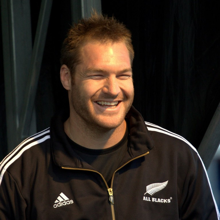 A happy Kiwi, Ali Williams