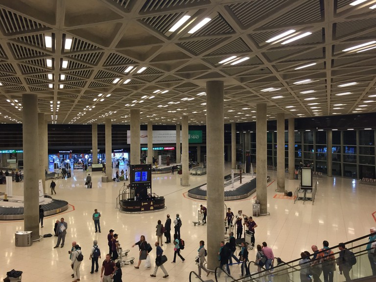 Amman-Queen-Alia-Airport-Baggage-Duty-Free