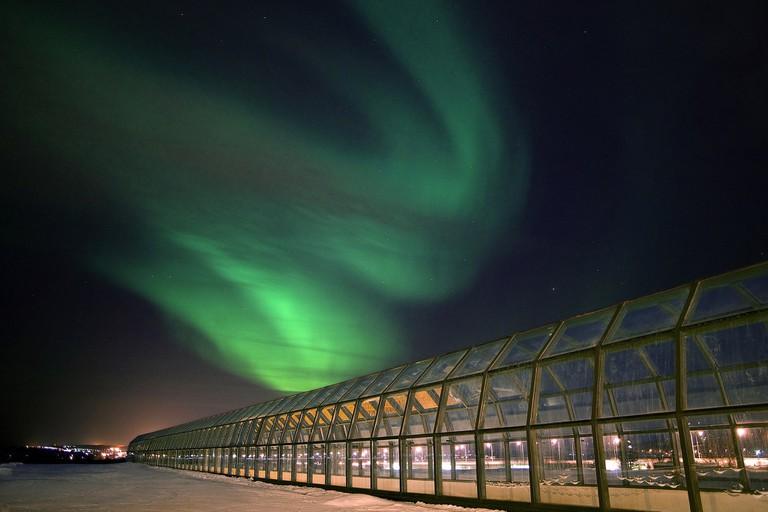 Arktikum_and_Northern_Lights