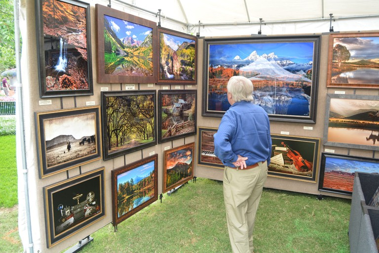 The Artscape Fine Art & Craft Fair is held annually at the Dallas Arboretum & Botanical Garden