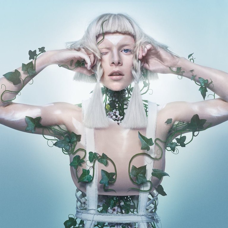 Aurora's look from her Queendom single release, Courtesy of Aurora Official