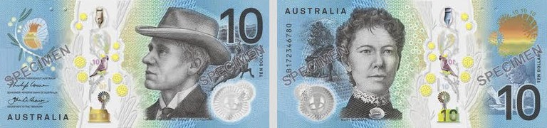 Australian $10 banknote © Stickee / Wikimedia Commons