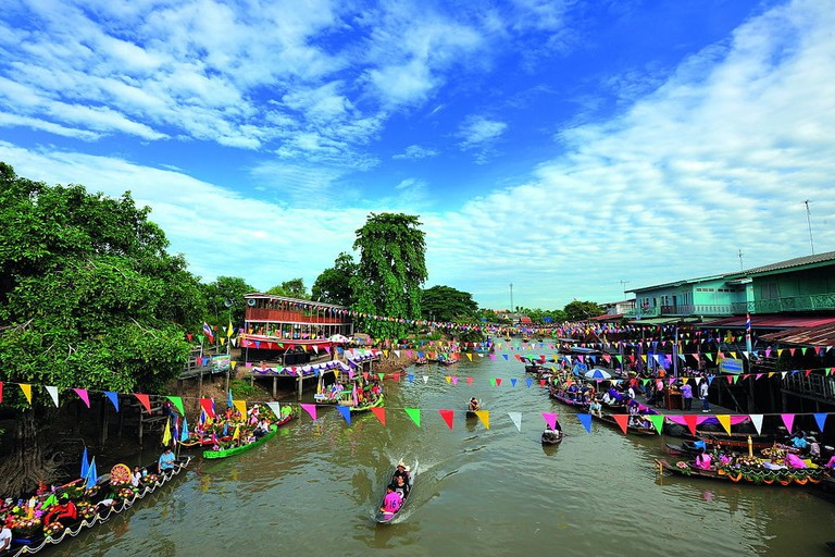 Ayutthaya's water-based economies helped elevate it become a prominent international trading centre