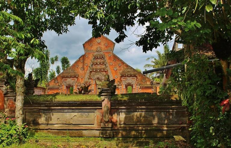 Hindu temple in Ubud, Bali