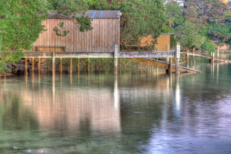 A beautiful boat shed in Beach Haven