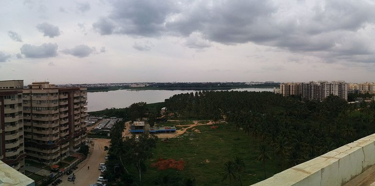 Bellandur lake Bangalore