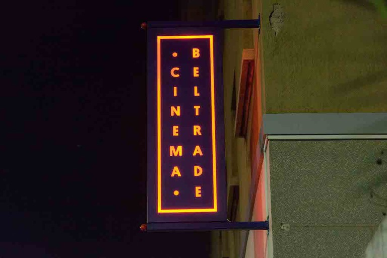 Signage at Cinema Beltrade, one of Milan's best loved art house cinemas | © Cinema Beltrade