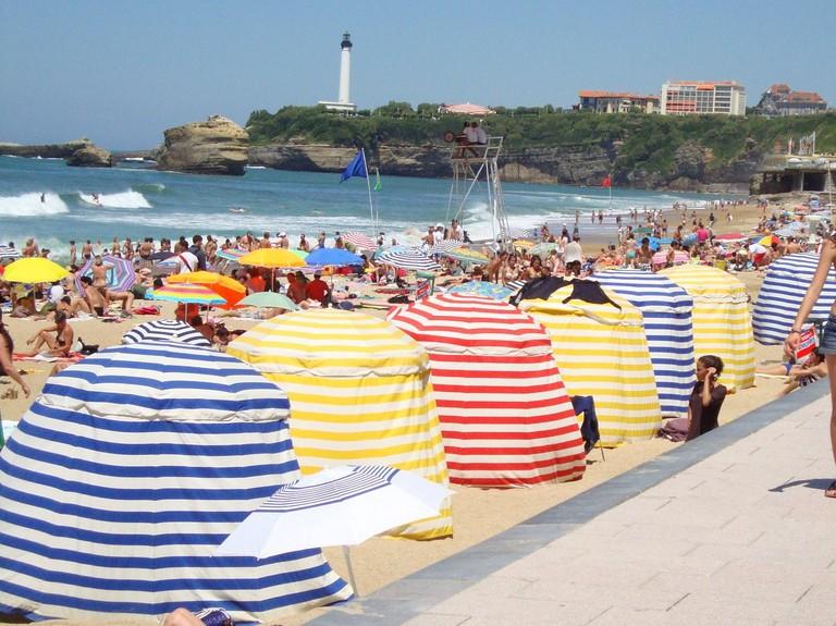 A Biarritz beach |© Public domain / Pixabay