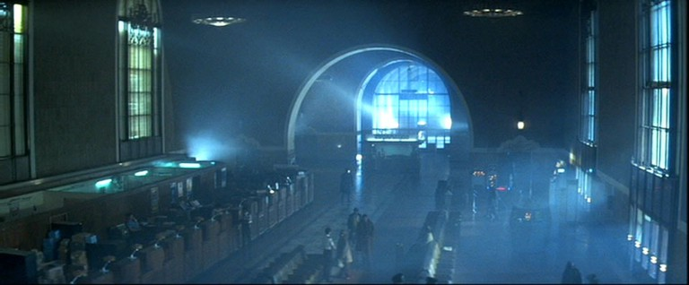 The police station in Blade Runner