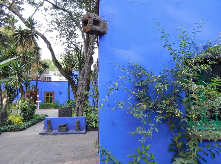 Blue House exterior flickr
