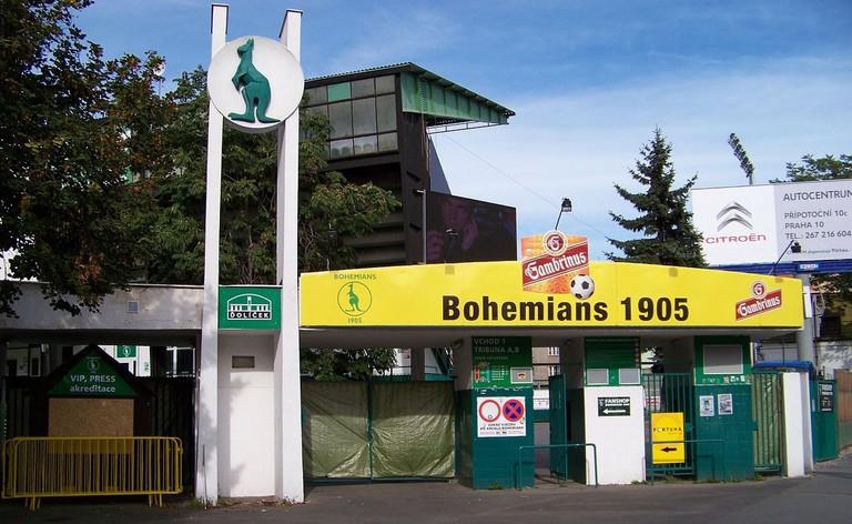 Bohemians Praha stadium © SJu / Wikimedia Commons
