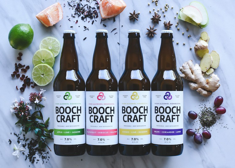 Boochcraft's four core flavors.
