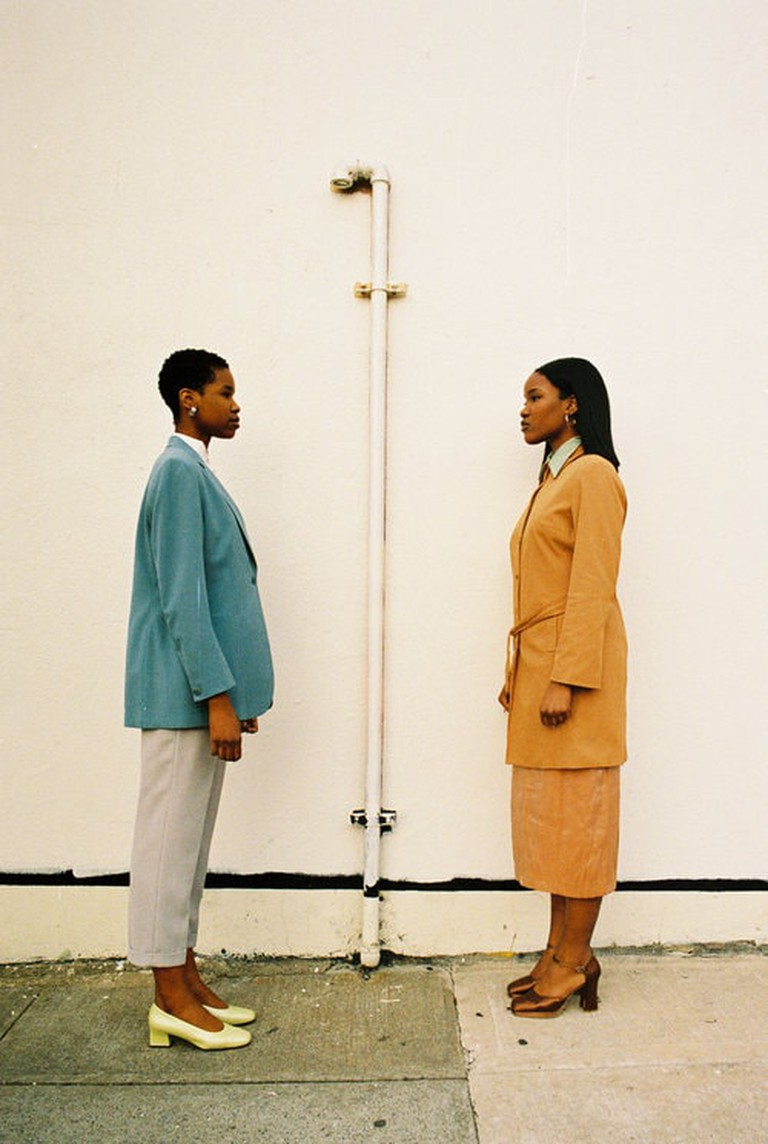 Models for The Break in contemporary vintage