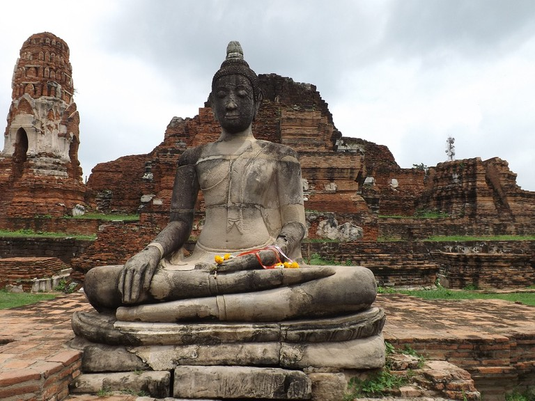 Evidence of Chinese settlements have recently been unearthed in Ayutthaya