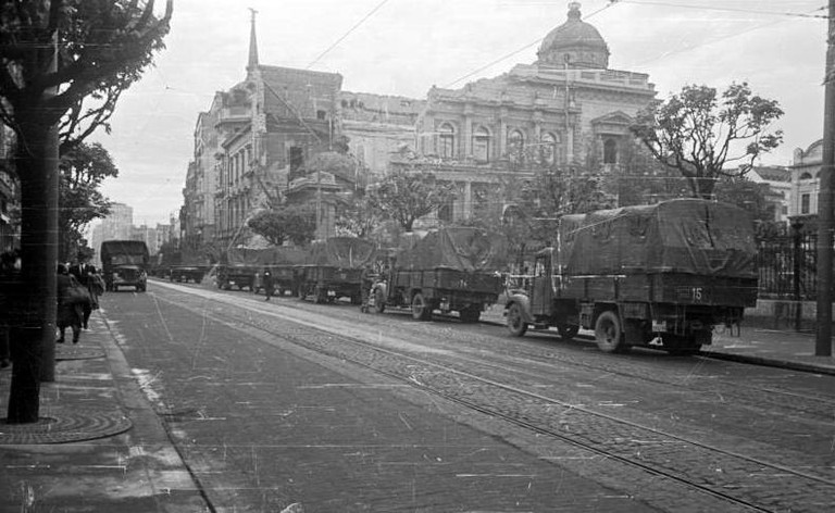 Belgrade was occupied by the Nazis during World War II