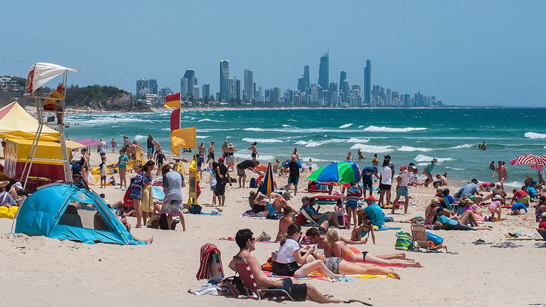 Gold Coast © Kerrie Brailsford / Wikimedia Commons