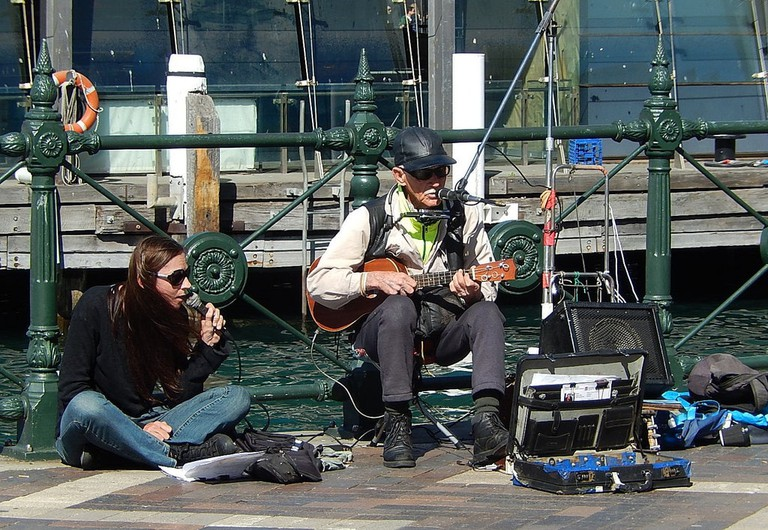 Buskers at Circular Quay, Sydney © Michael Coghlan / Flickr