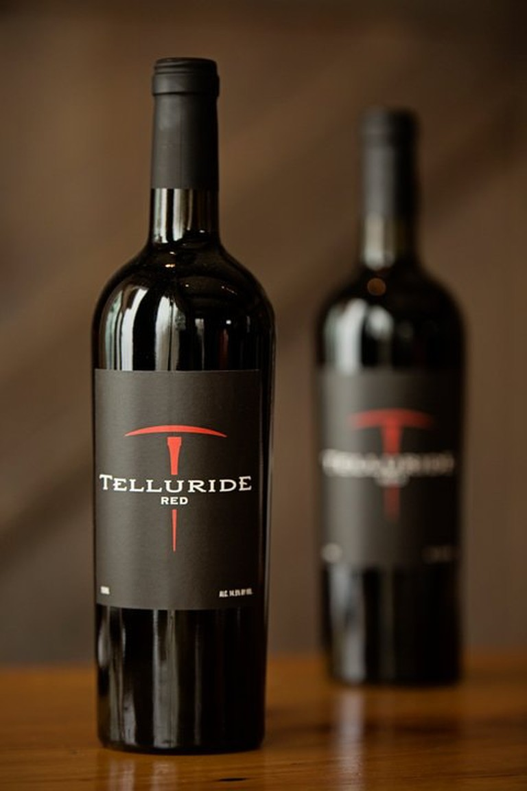 Telluride Wine is only sold at the Telluride Ski Resort and comes in two flavors