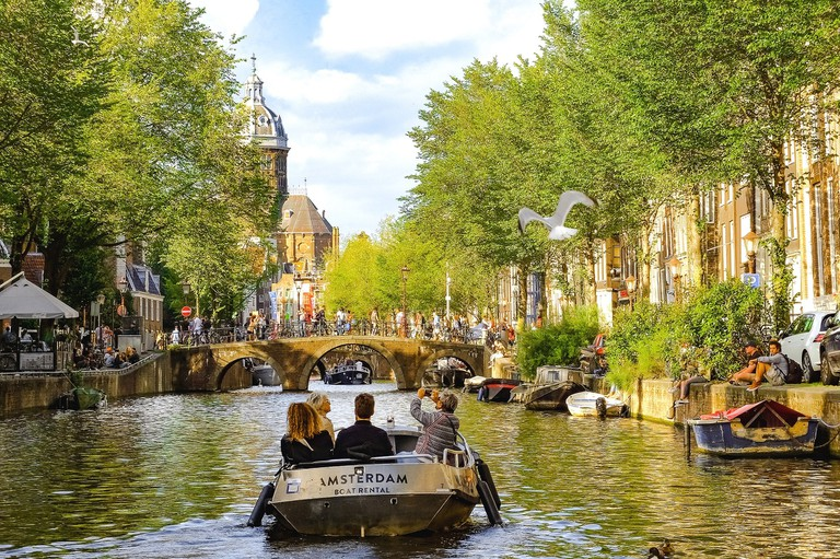 There are many different types of boat tours on offer in Amsterdam