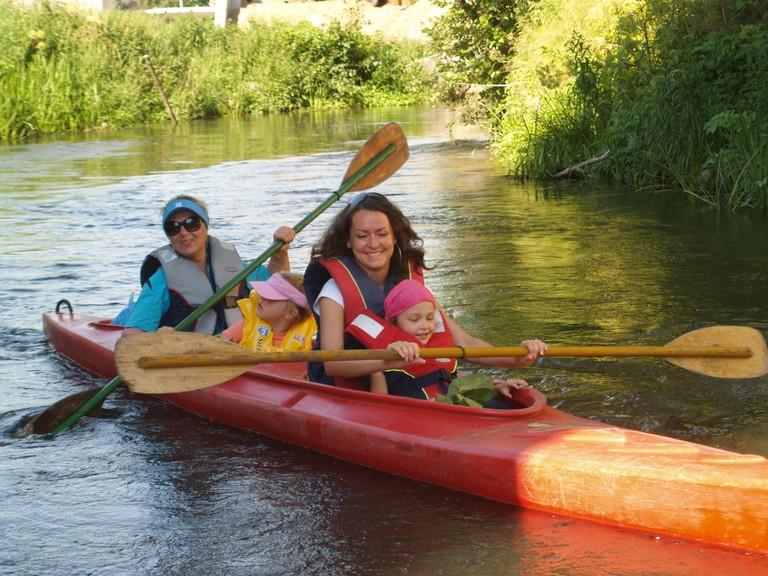 Canoeing in Kociewie