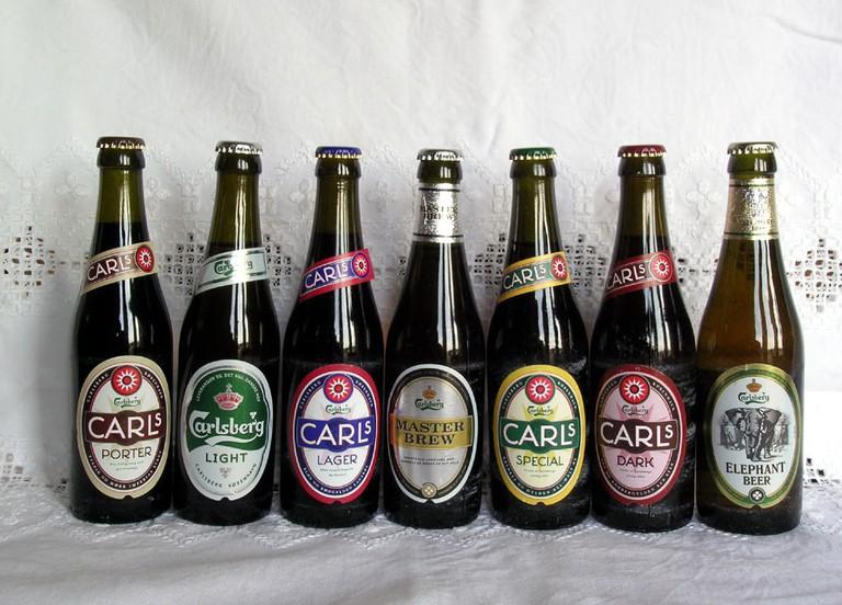 Carlsberg_beers danish brewery
