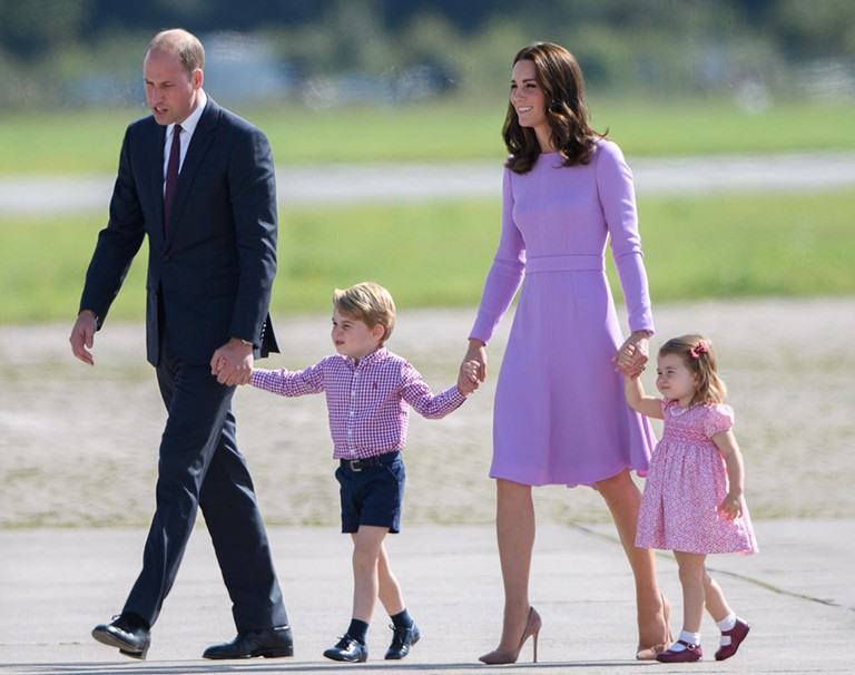 Prince William and Catherine Duchess of Cambridge visit to Germany