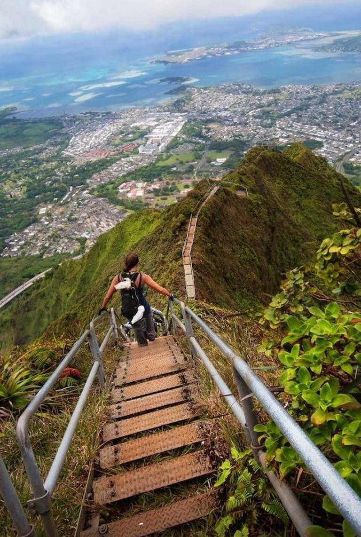 View from Haiku Stairs