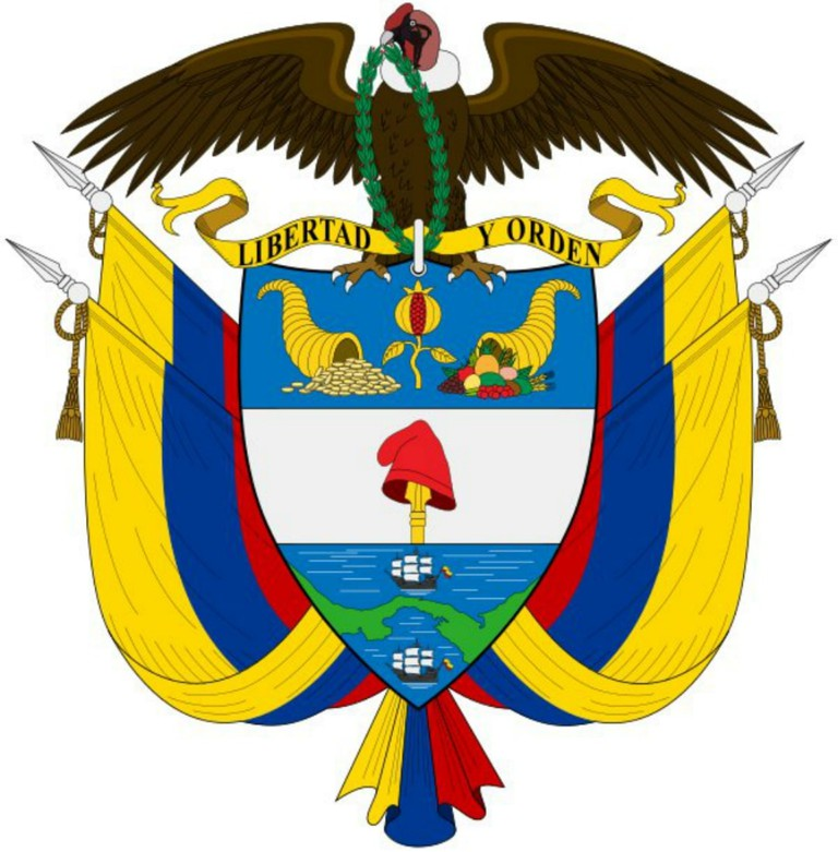 The Colombian Coat of Arms: can you spot Panama?