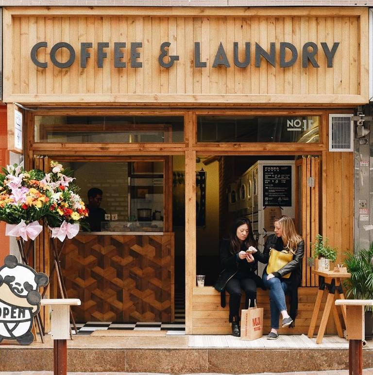 Coffee and Laundry Hong Kong