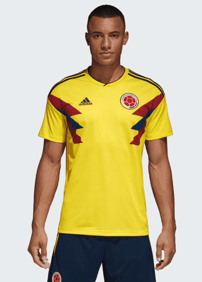 Colombia 2018 home kit