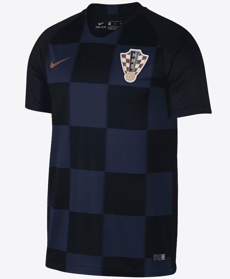 Croatia 2018 away shirt