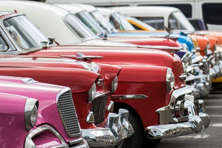 American vintage cars