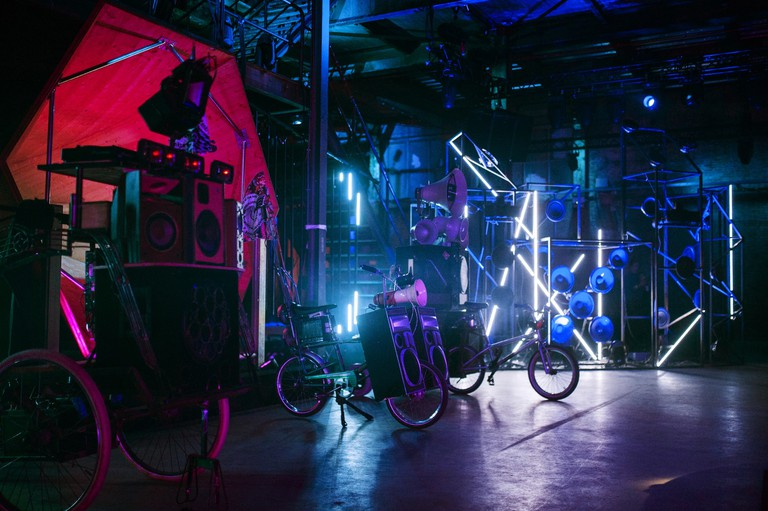 The epic sound stages at DIY in Amsterdam
