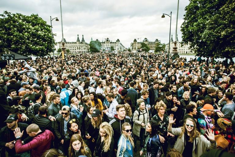 distortion festival copenhagen street party