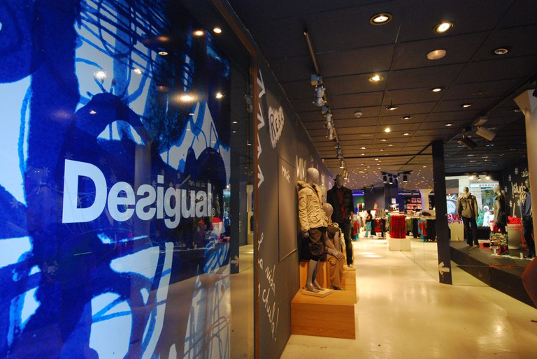 Desigual does bold, edgy and colourful meanswear