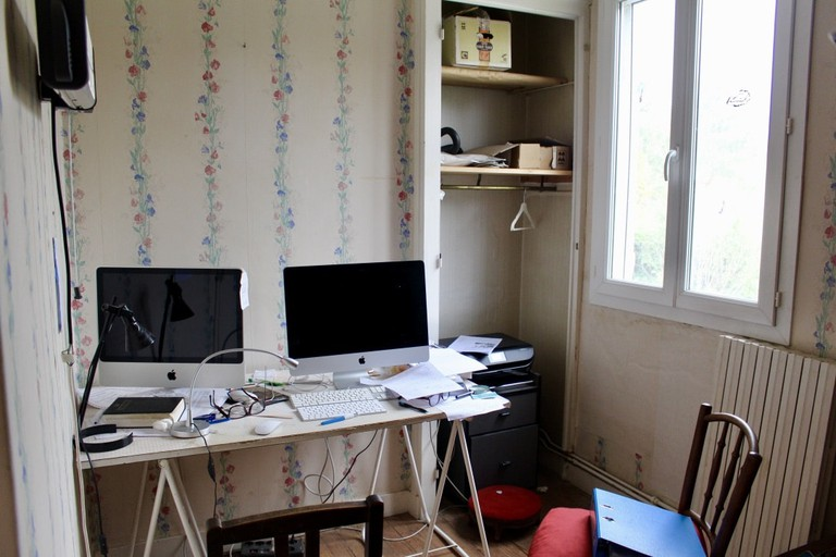 This is the room in which Daniel writes his beautiful songs
