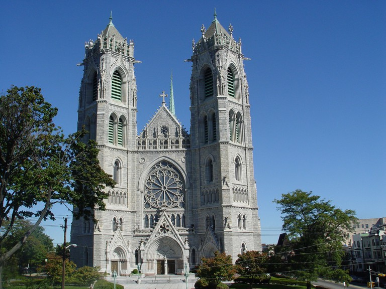 The Cathedral Basilica of the Sacred Heart in Newark, NJ.