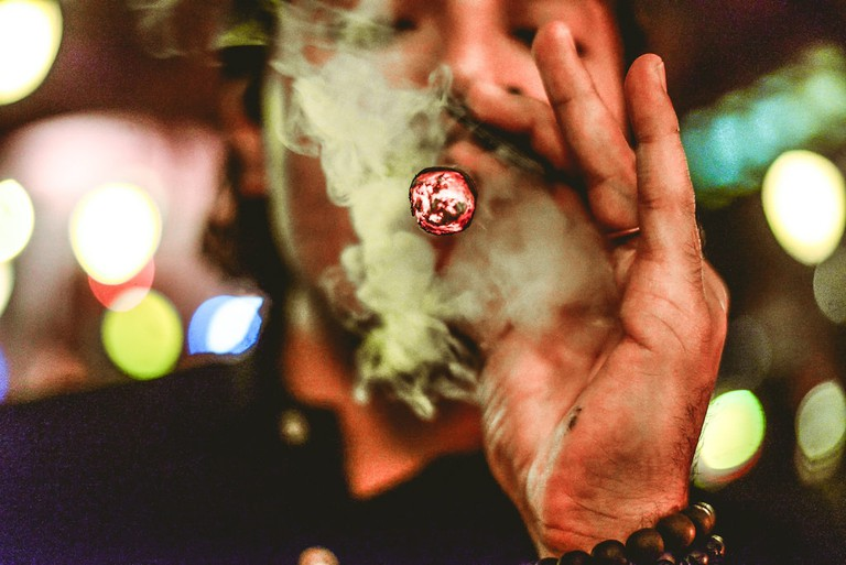 Shaker's Cigar Bar | © Kelsey Lawson/ Courtesy of Shaker's Cigar Bar