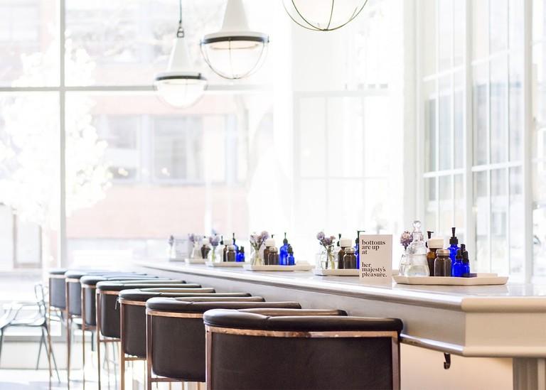 Salon, spa and cocktail bar