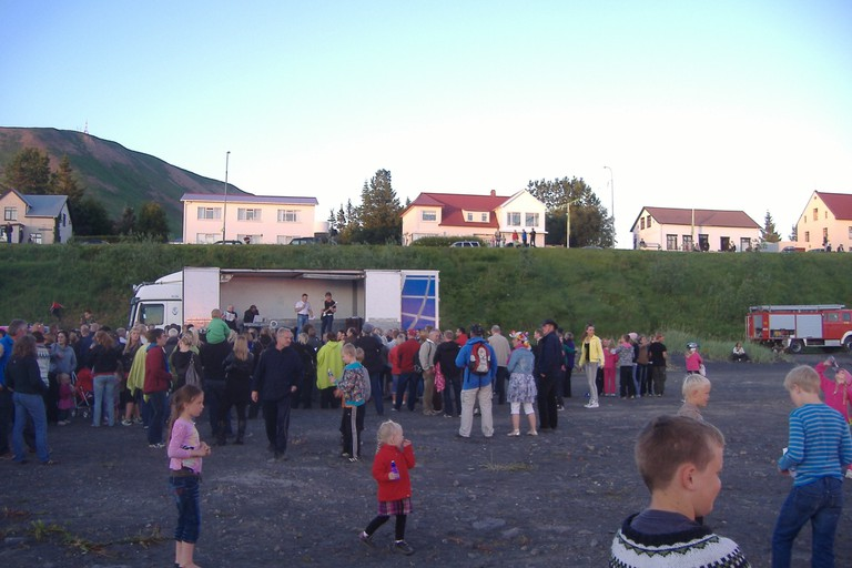 Village Festival in North Iceland