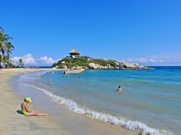 Enjoying the beaches of Cabo San Juan