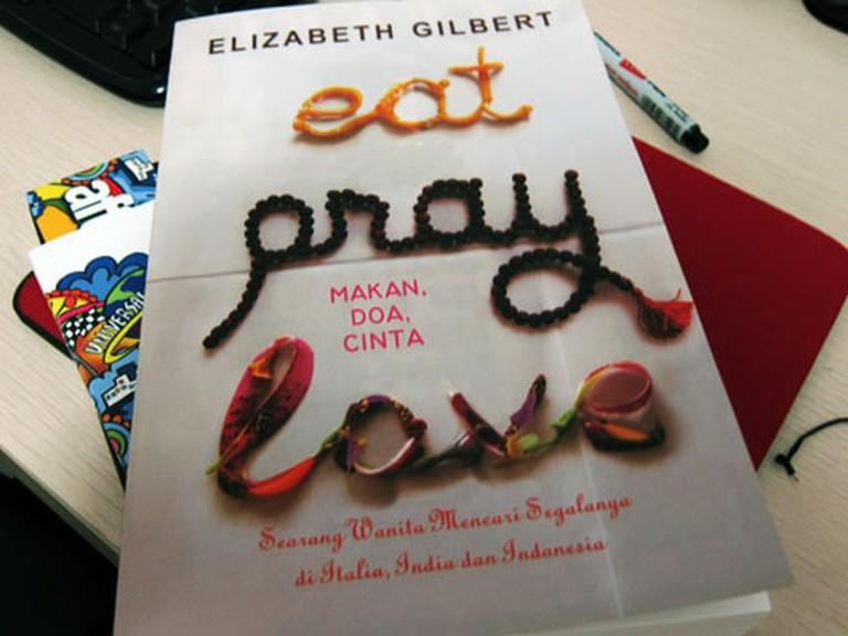 The film Eat Pray Love is based on Elizabeth Gilbert's book