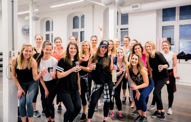 Party package at Elle Fitness